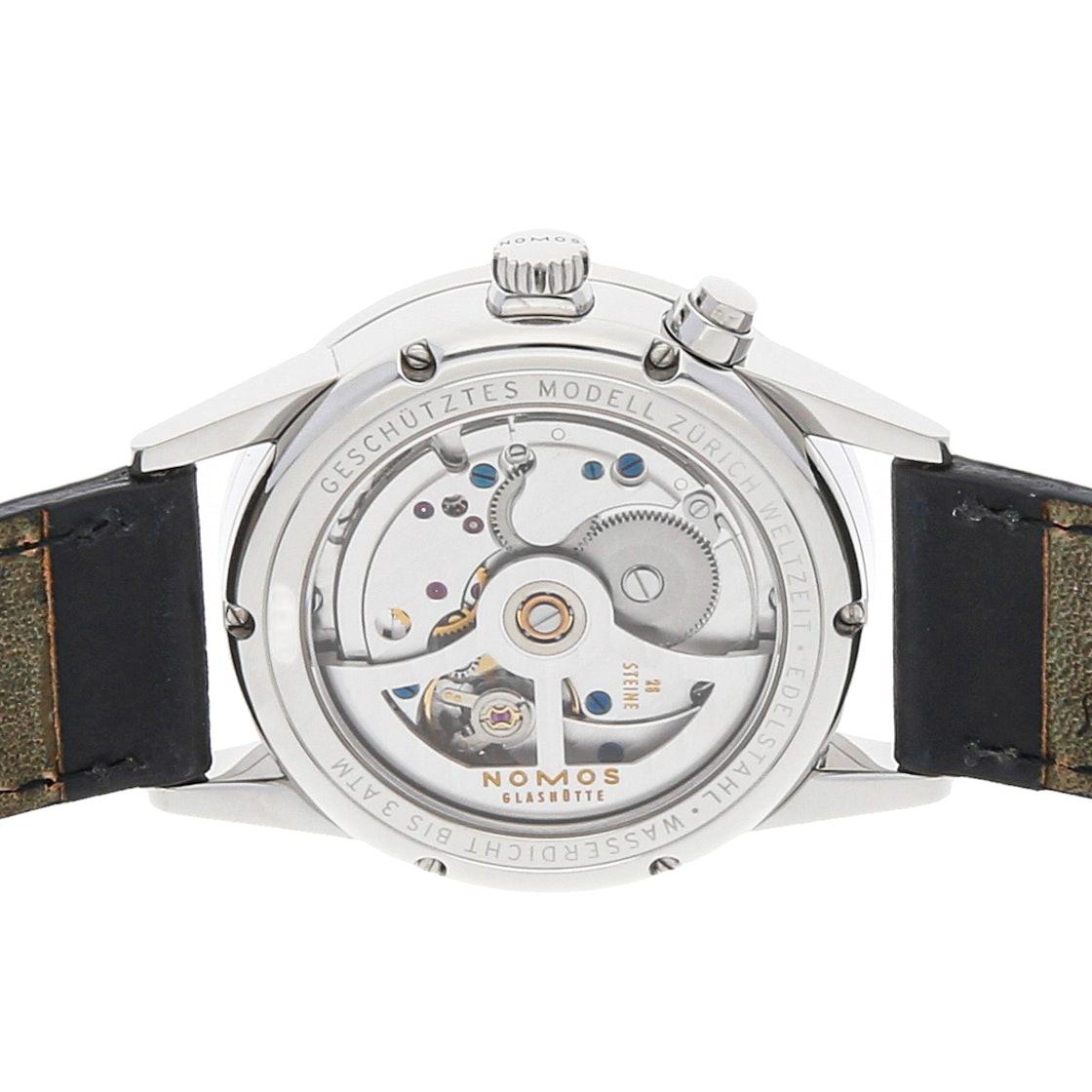 Nomos Glashutte Zurich World Time 805