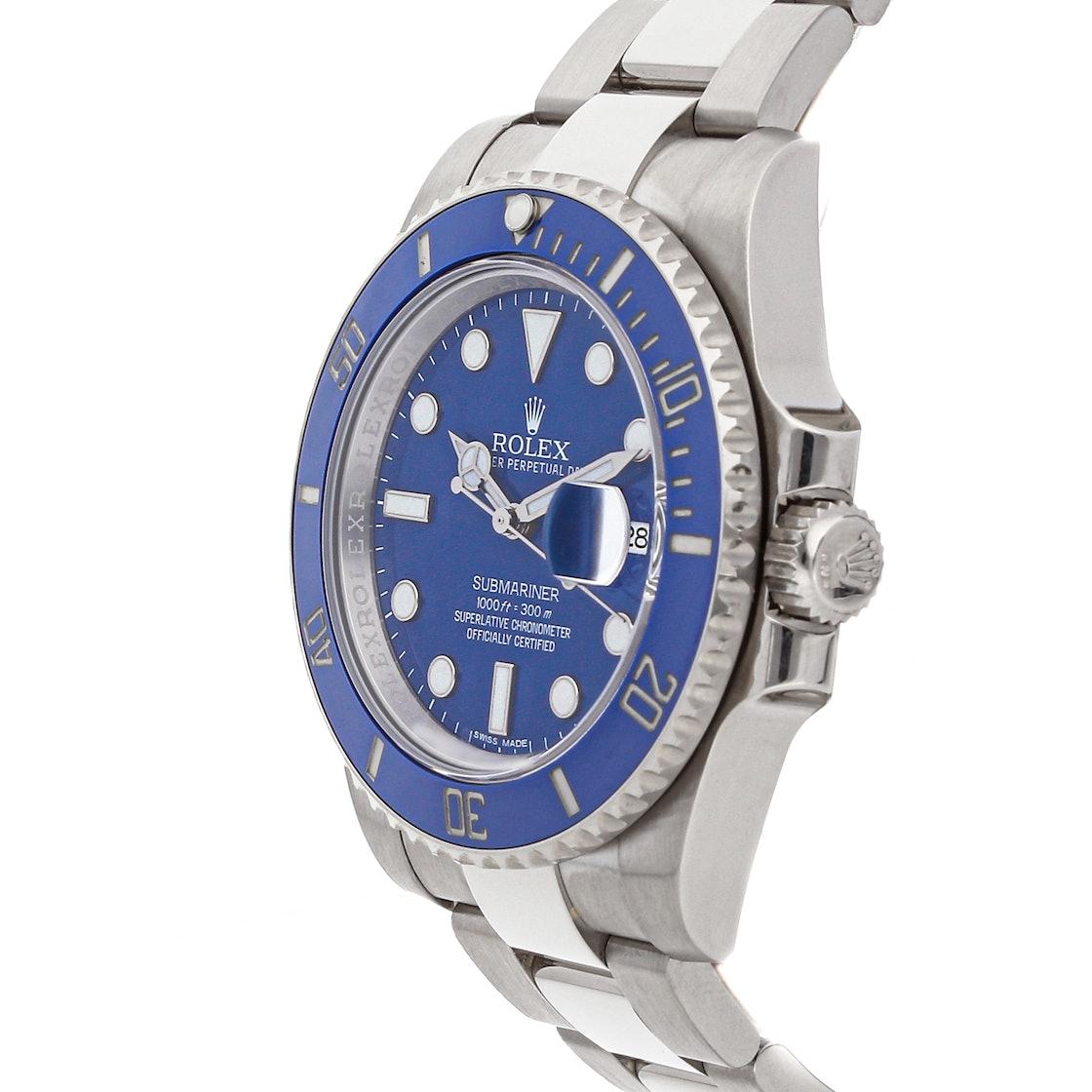 """Rolex Submariner """"Smurf"""" 116619"""
