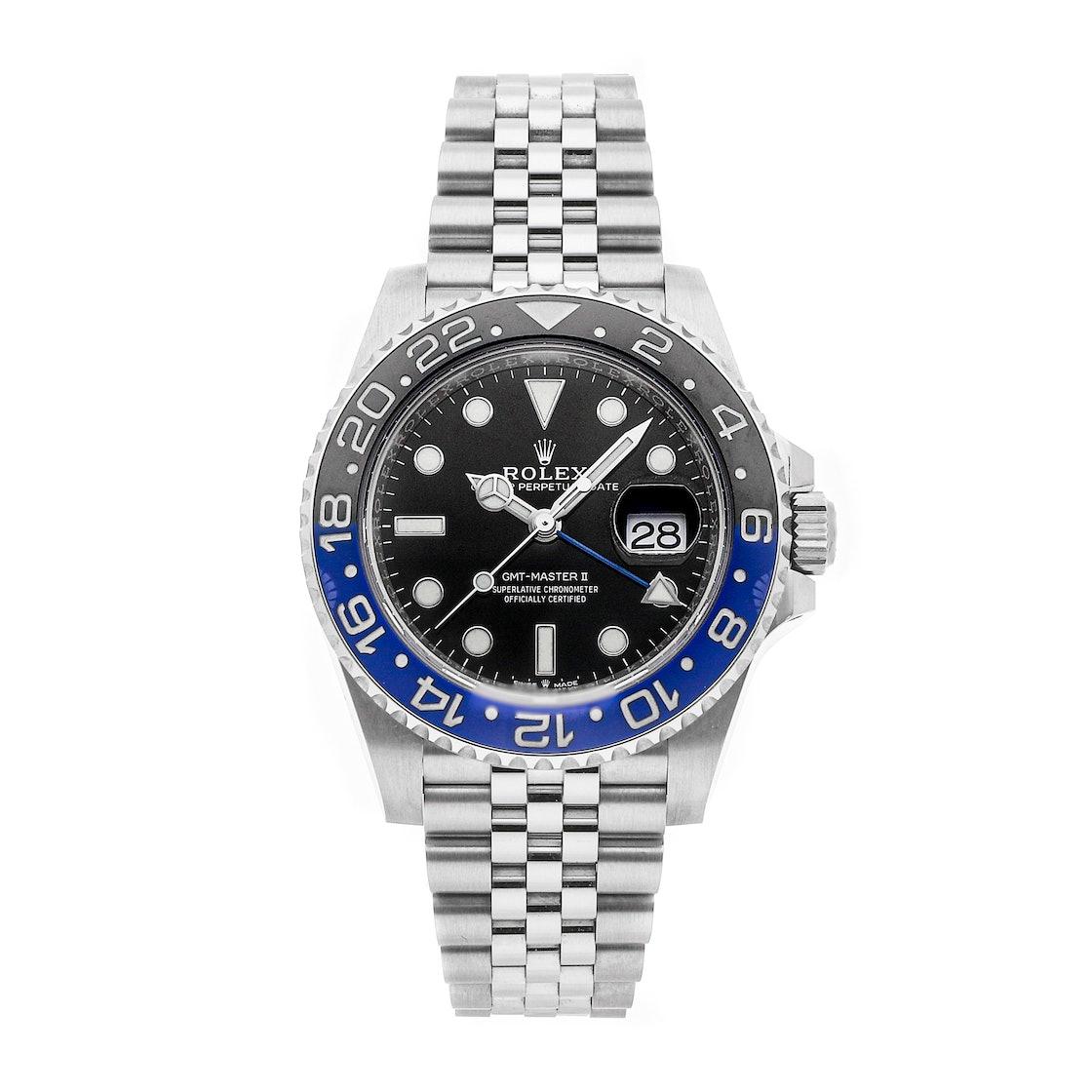 "Rolex GMT-Master II ""Batman"" 126710BLNR"