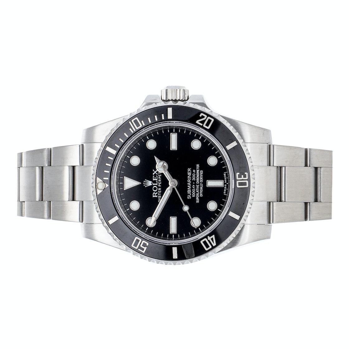 """Rolex Submariner """"No Date"""" 114060"""