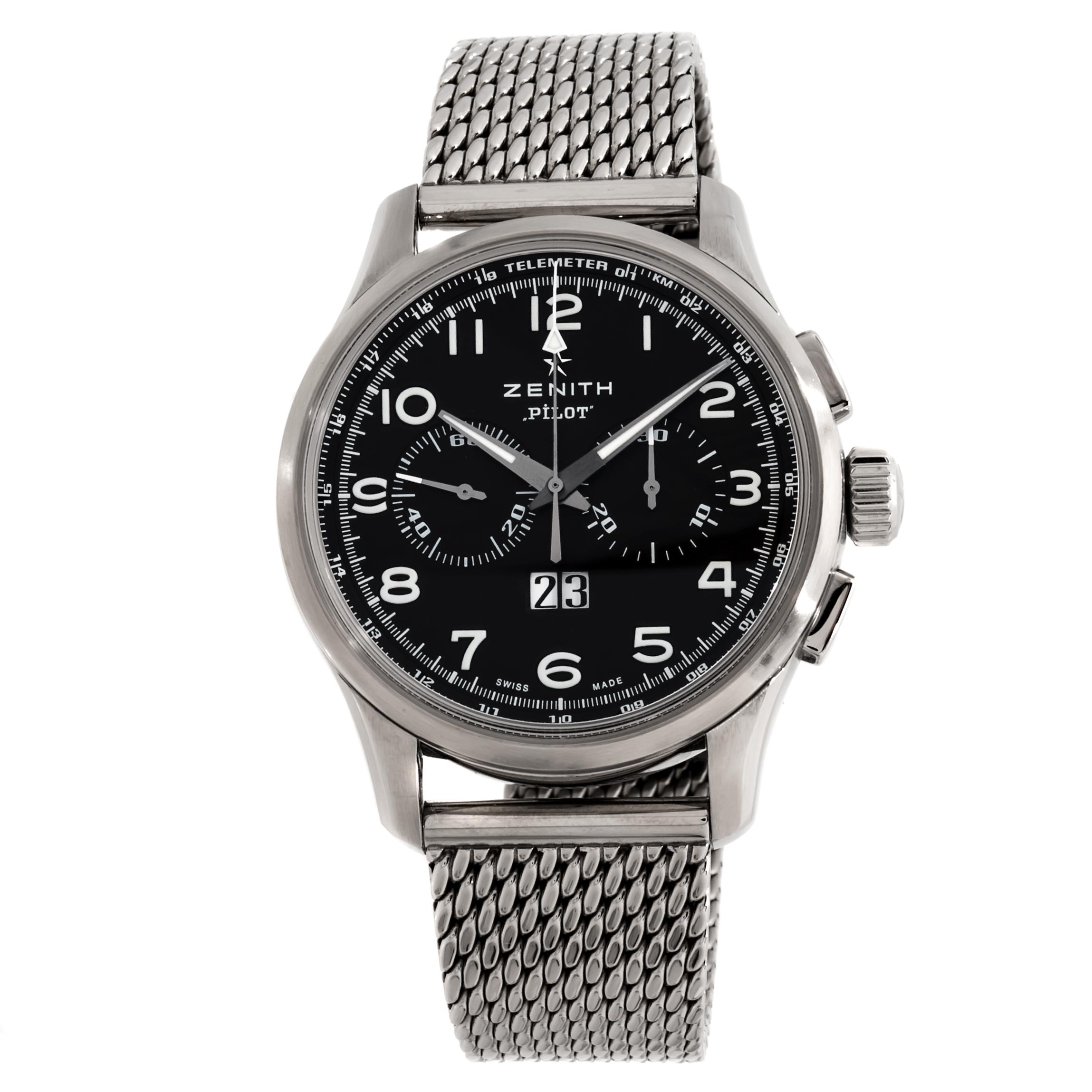 Zenith El Primero Pilot Chronograph Big Date Special 03.2410.4010/21.M2410