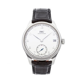 IWC Portugueser Hand-Wound Eight Days IW5102-03