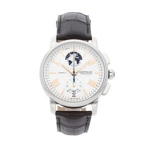 New Montblanc 4810 Twinfly Chronograph 114859