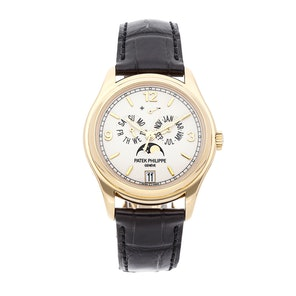 Patek Philippe Complications Annual Calendar Moon Phases 5146J-001