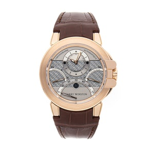 Harry Winston Ocean Triple Retrograde Chronograph 400-MCRA44R-2