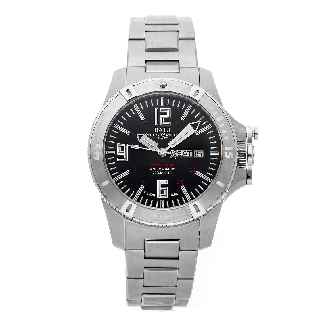 Ball Watch Company Engineer Hydrocarbon Spacemaster X Lume DM2036A-SCA-BK