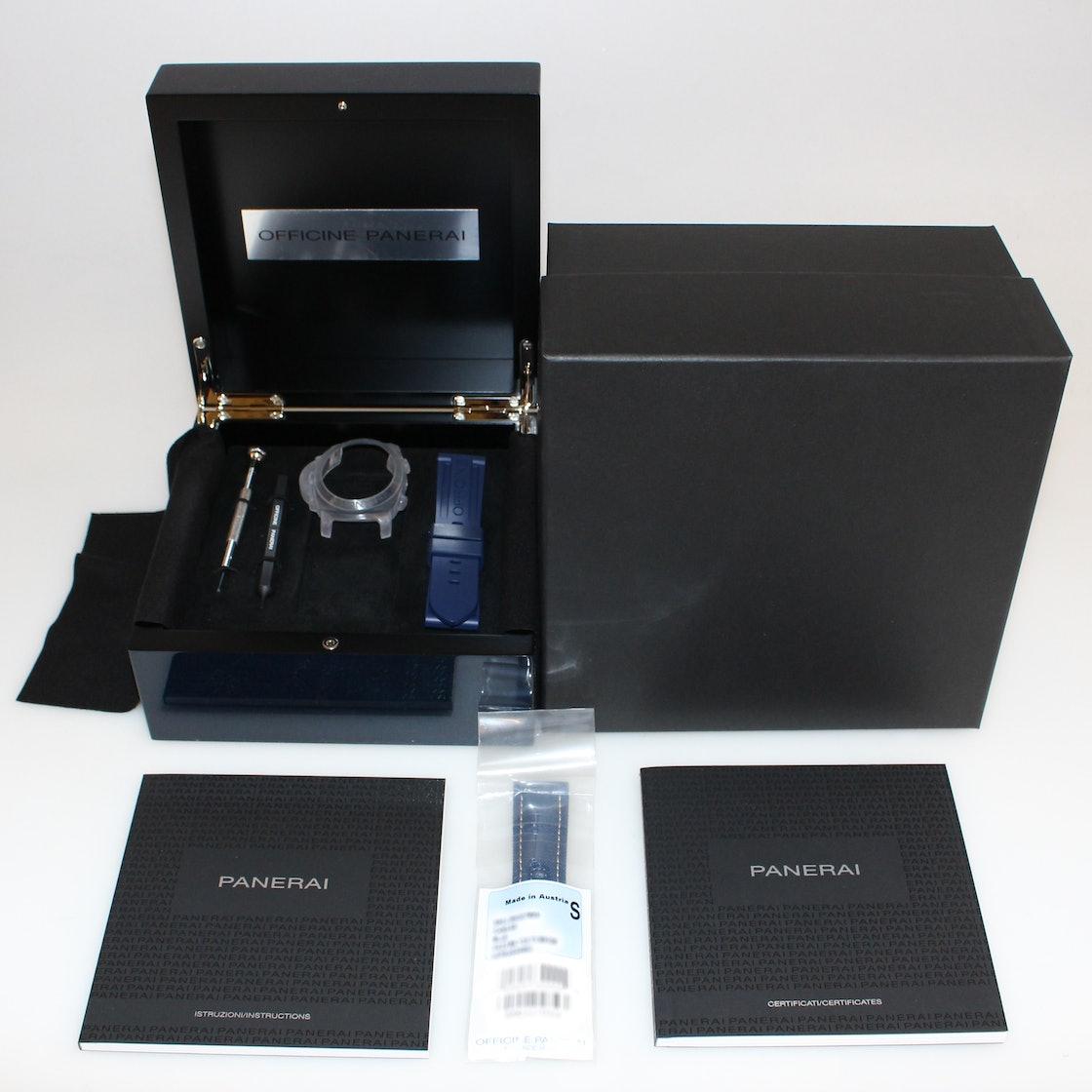 "Panerai Luminor 1950 10-Days GMT ""Design Miami"" Limited Edition PAM 986"
