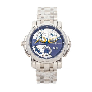 Ulysse Nardin Sonata Catherdral Dual Time 670-88