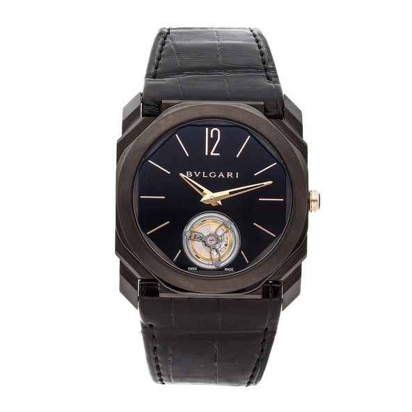 Bulgari Octo Tourbillon Ultranero 102560