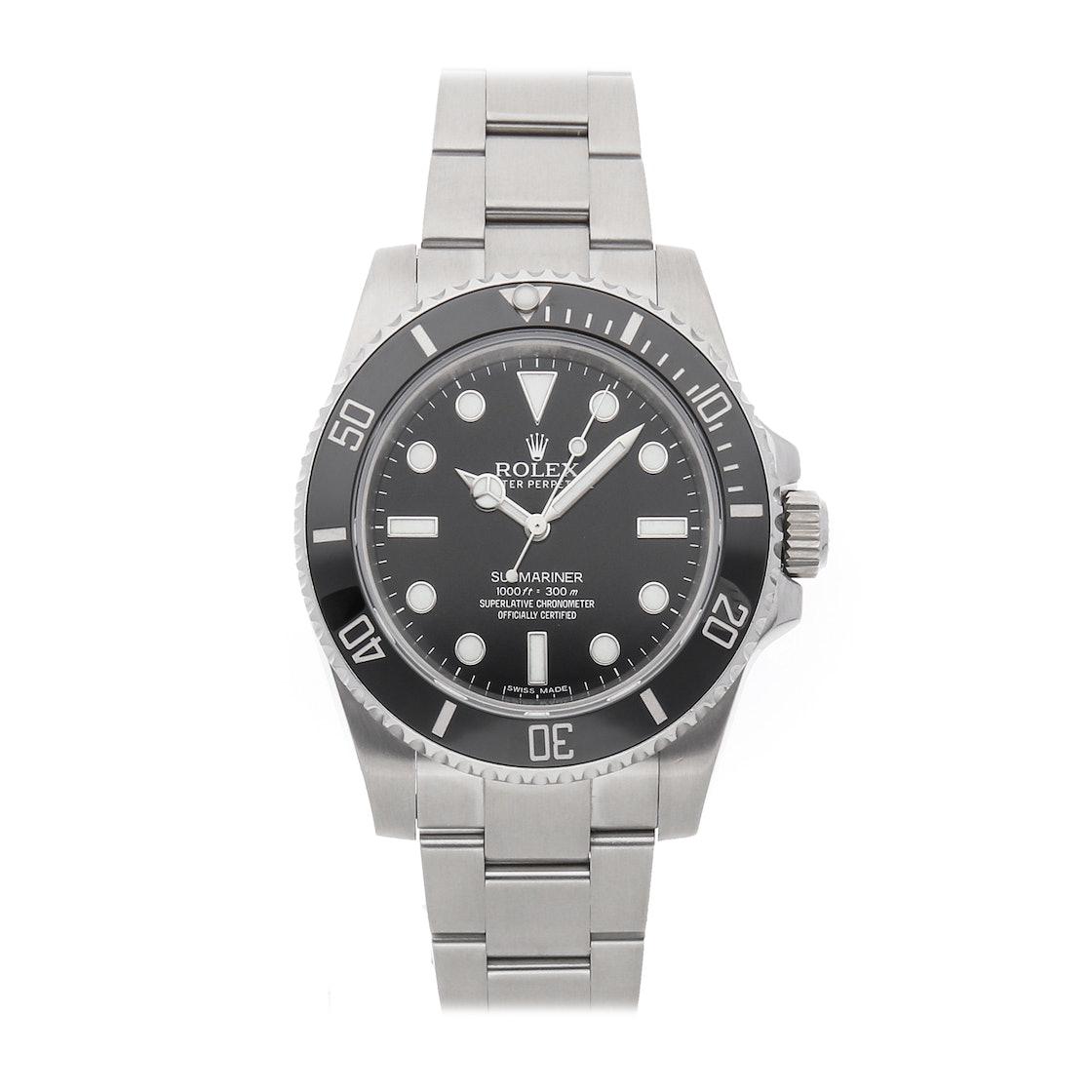 "Rolex Submariner ""No Date"" 114060"