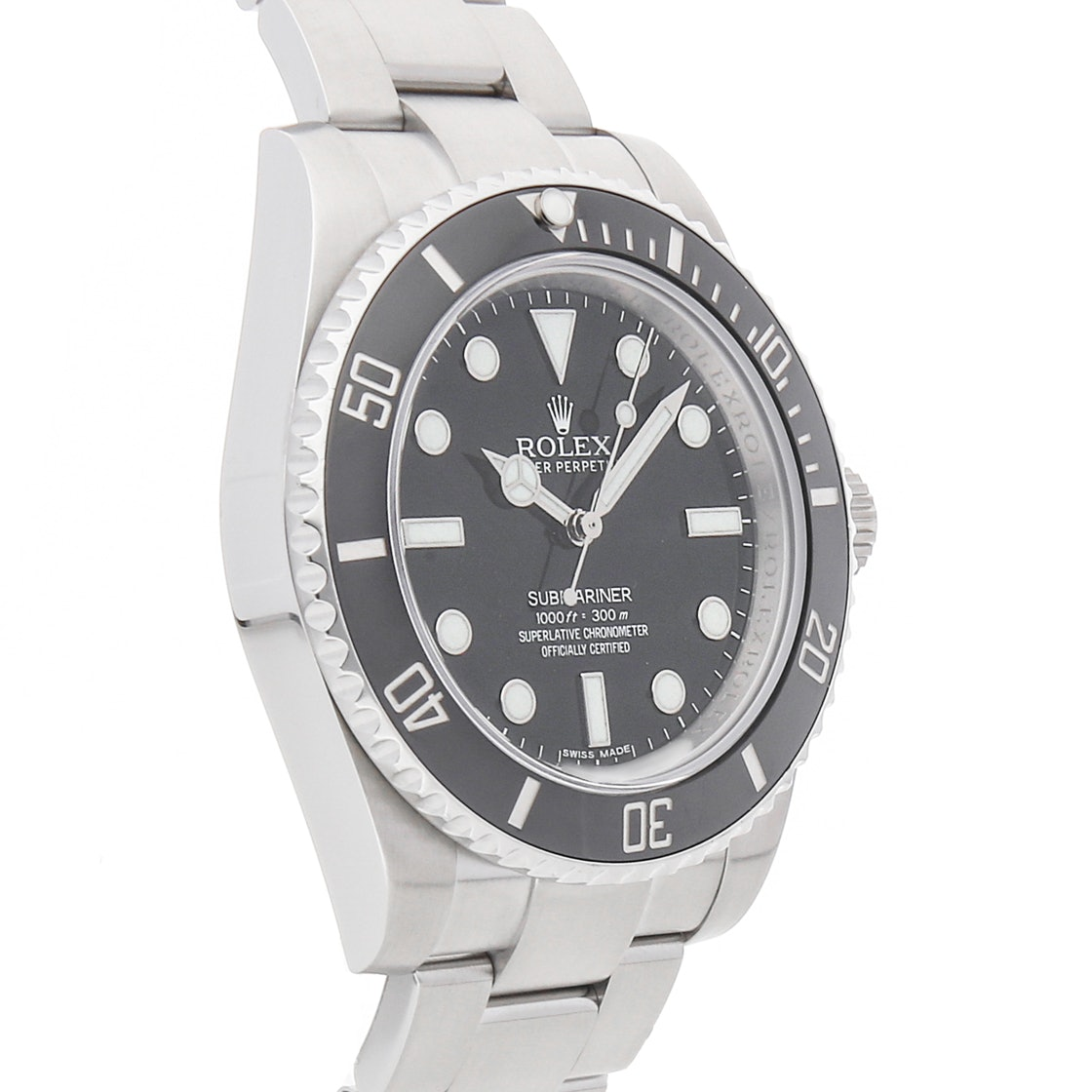 "Rolex Submariner ""No Date"" 114060"