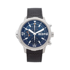 "IWC Aquatimer Chronograph ""Expedition Jacques-Yves Cousteau 2014"" Edition IW3768-05"