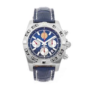 """Breitling Chronomat 44 """"Patrouille de France"""" Limited Edition AB01109E/C886"""