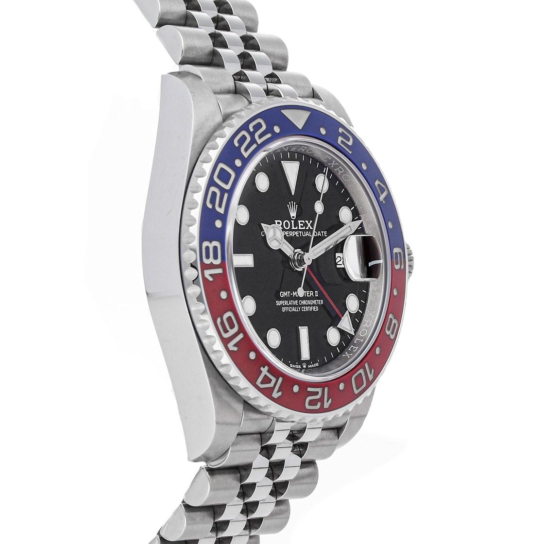 """Rolex GMT-Master II """"Pepsi"""" 126710BLRO"""