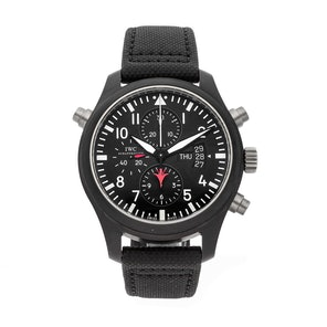 IWC Pilot's Double Chronograph Top Gun IW3799-01