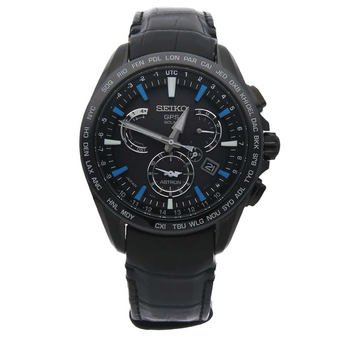 Seiko Astron GPS Solar Dual Time Limited Edition SSE067