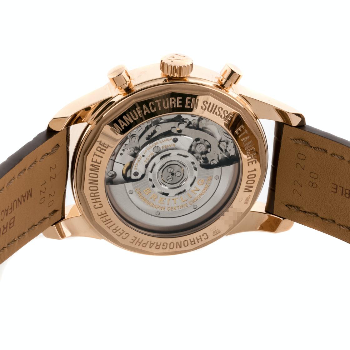 Breitling Transocean Chronograph RB015253/G738