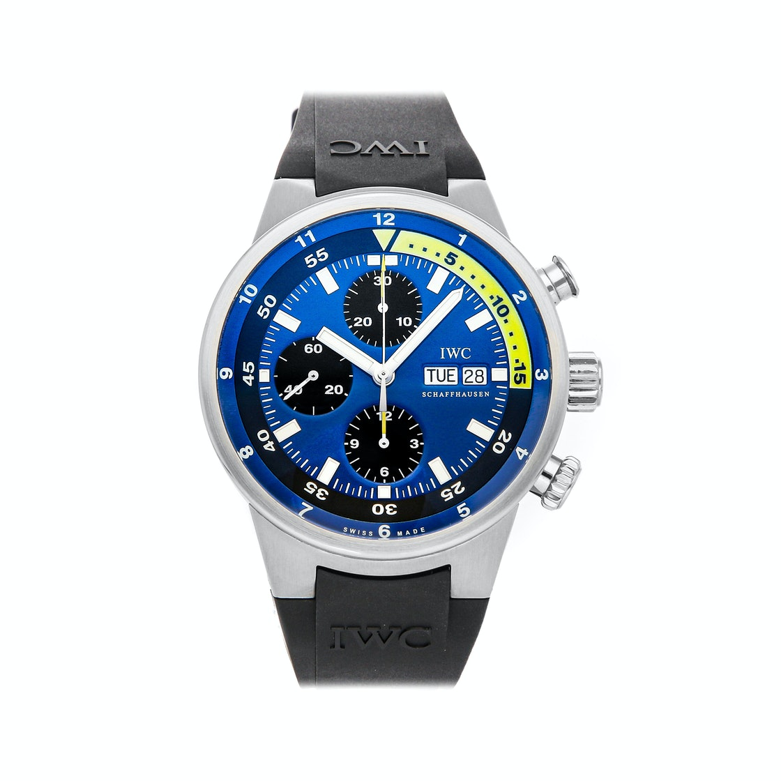 "IWC Aquatimer Chronograph ""Tribute to Calypso"" Limited Edition IW3782-03"