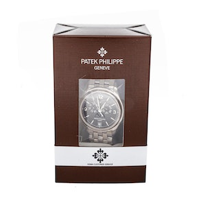 Patek Philippe Complications Annual Calendar Moon Phases 5146/1G-010