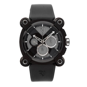 Romain Jerome Moon Dust-DNA Moon Invader Black Metal Chronograph Limited Edition RJ.M.CH.IN.005.01