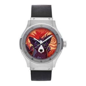 "Hublot Classic Fusion ""George Rodrigue Blue Dog"" Limited Edition 1915.001.01BL007"
