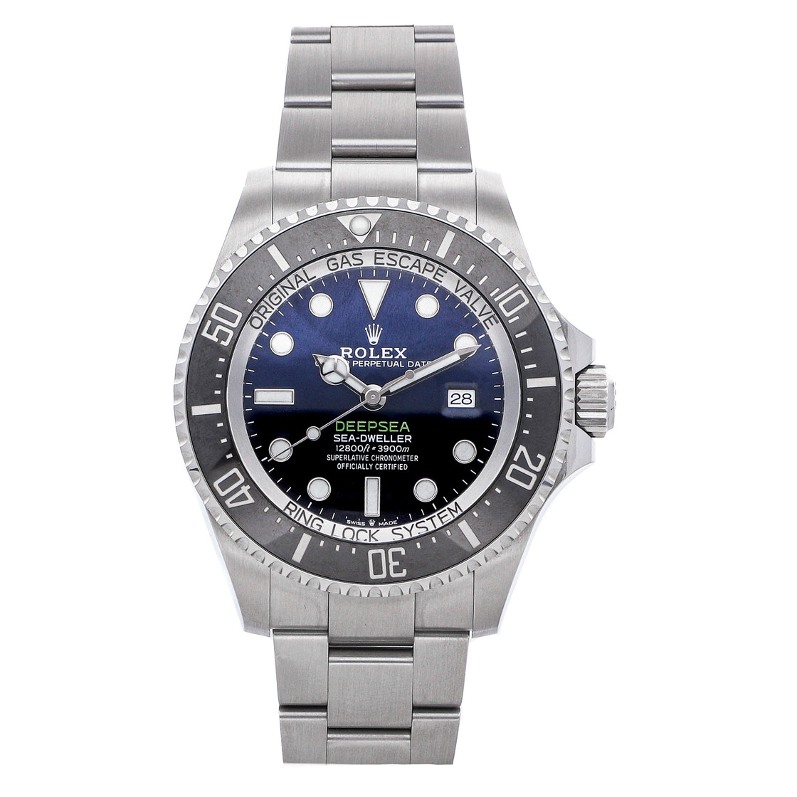 "Rolex Deepsea Sea-Dweller ""Deep Blue"" 126660"