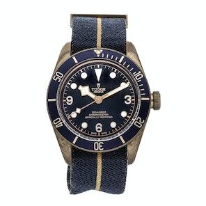 Tudor Heritage Black Bay Bronze Blue Bucherer Special Edition 79250BB