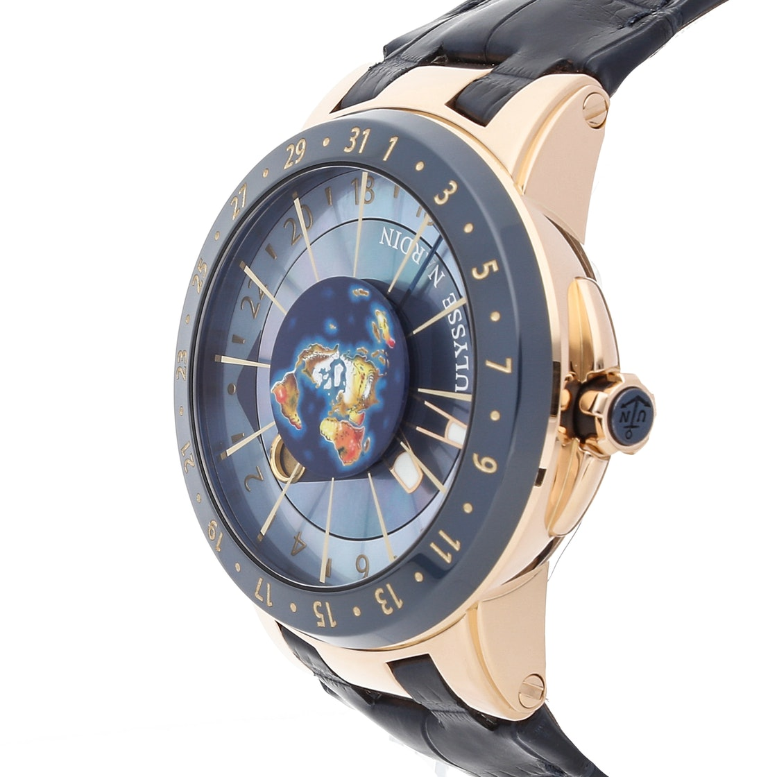 Ulysse Nardin Executive Moonstruck Worldtimer Limited Edition 1062-113