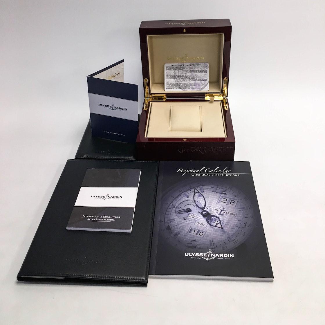 Ulysse Nardin El Toro GMT Perpetual Calendar Limited Edition 329-00-3