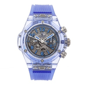 Hublot Big Bang Unico Blue Sapphire Limited Edition 411.JL.4809.RT