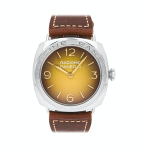 Panerai Radiomir 3-Days Acciaio Brevettato Tropical Limited Edition PAM 687