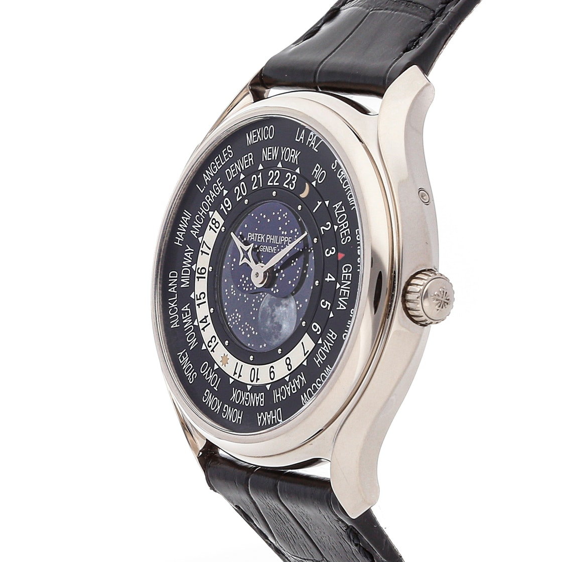 Patek Philippe Complications World Time Moon 175th Anniversary Limited Edition 5575G-001