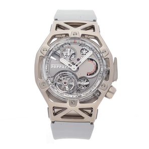 Hublot Techframe Ferrari Tourbillon Chronograph Limited Edition 408.JW.0123.RX