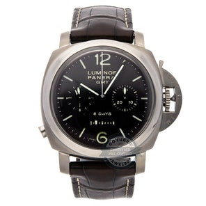 Panerai Luminor 1950 Chrono Monopulsante 8-Days GMT Titanio PAM 311
