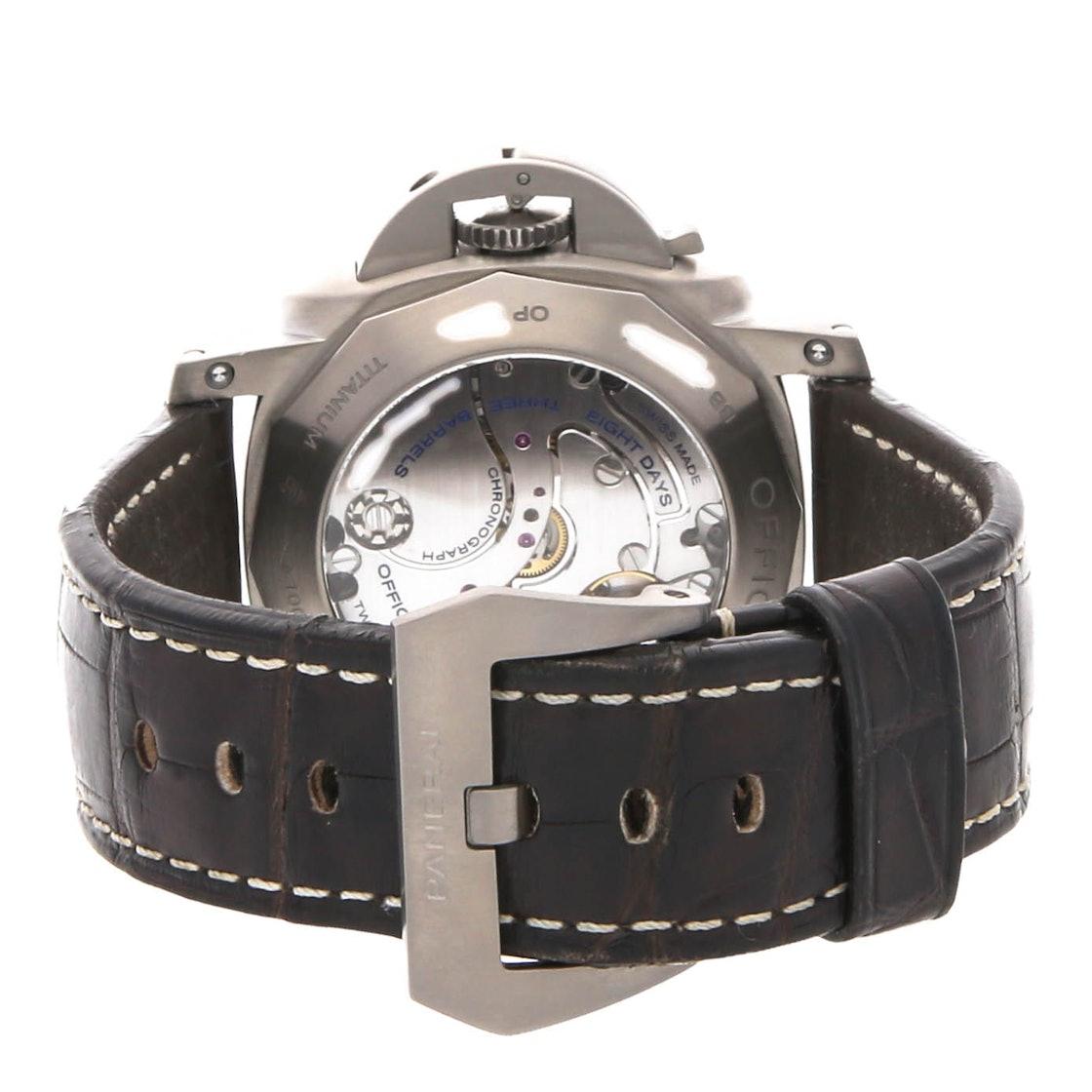 Panerai Luminor 1950 Chrono Monopulsante 8-Days GMT Titanio PAM 311