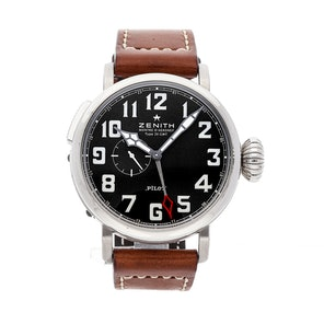 Zenith Elite Pilot Montre d'Aeronef Type 20 GMT 03.2430.693/21.C723