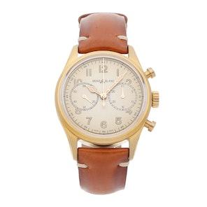 New Montblanc 1858 Chronograph 118223