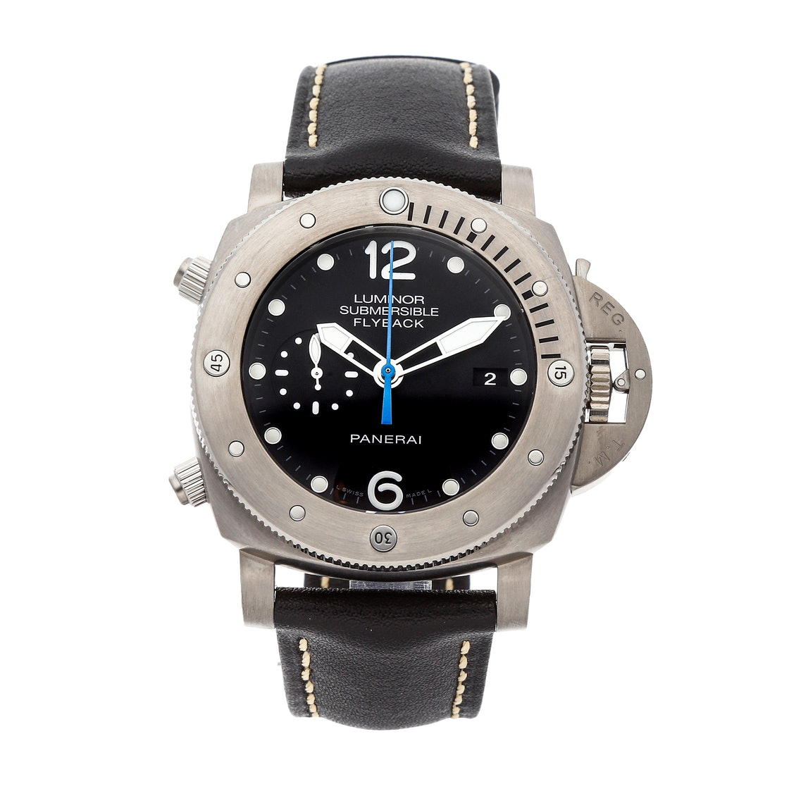 Panerai Luminor Submersible 1950 3-Days Chrono Flyback Titanio PAM 614