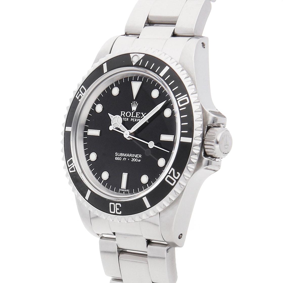 """Rolex Vintage Submariner """"No Date"""" 5513"""