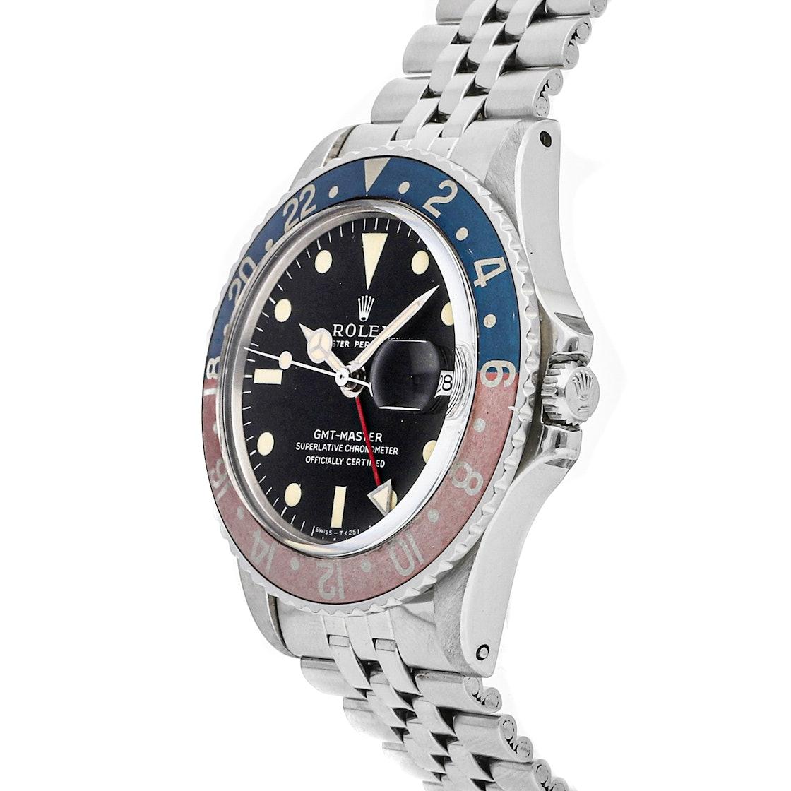 """Rolex GMT-Master """"Pepsi"""" 1675"""