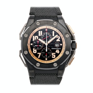 "Audemars Piguet Royal Oak Offshore ""Arnold Schwarzenegger The Legacy"" Chronograph 26378IO.OO.A001KE.01"