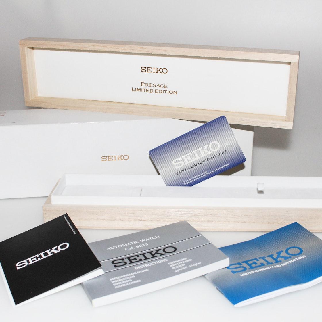 Seiko Presage Limited Edition SPB069