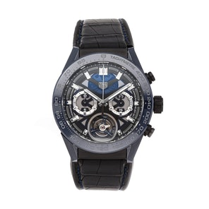 "Tag Heuer Carrera Chronograph Tourbillon ""Tete de Vipere"" Limited Edition CAR5A93.FC6442"