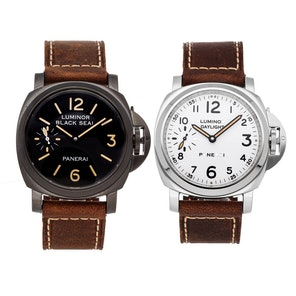 Panerai Luminor 8-Days Set: Luminor 8-Days Black Seal PAM 594 & Luminor 8-Days Daylight PAM 602