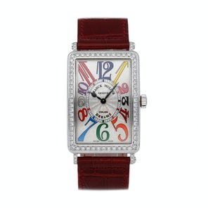Franck Muller Long Island Color Dreams 1002 QZ COL D1 AC