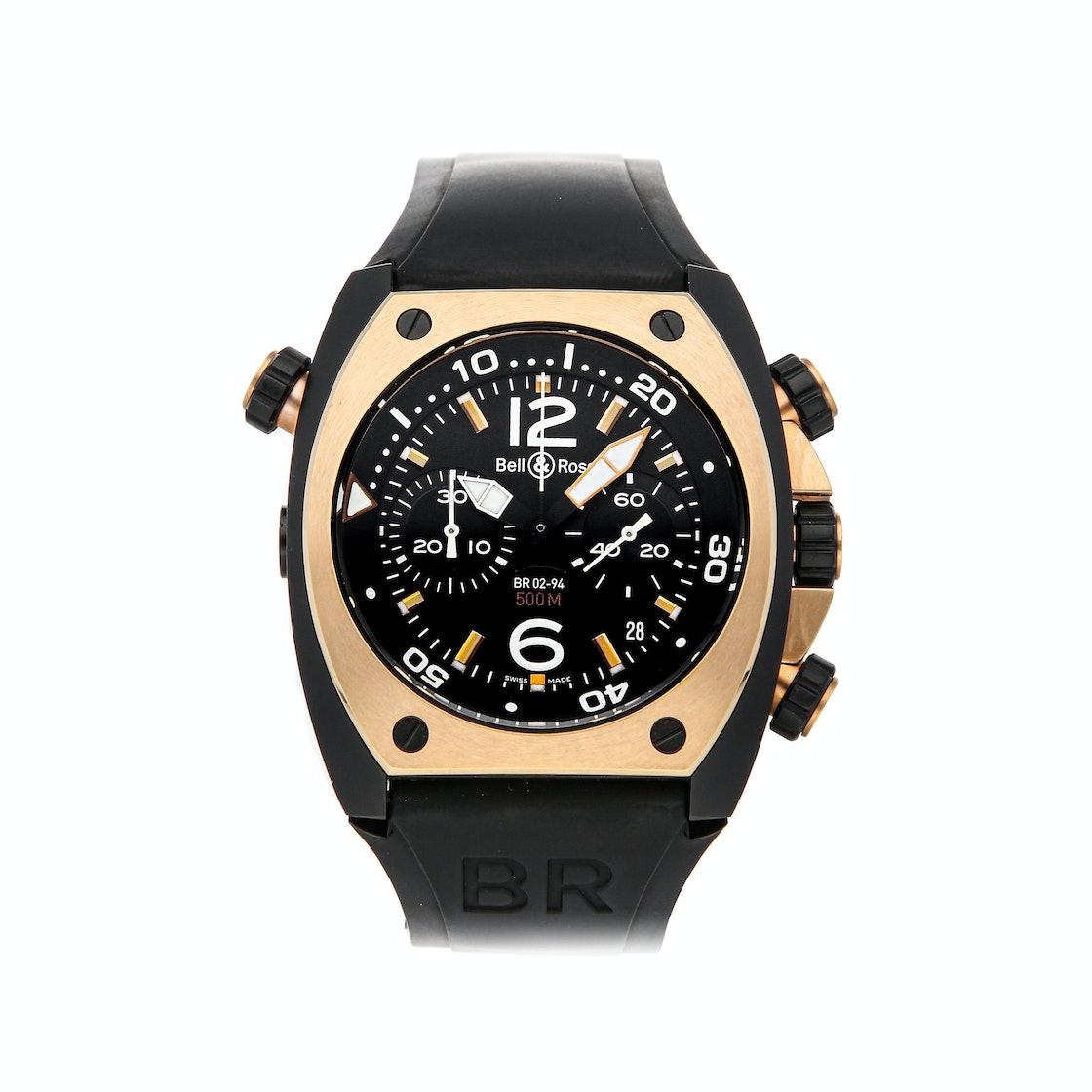 Bell & Ross BR 02-94 Chronograph BR02-CHR-BICOLOR