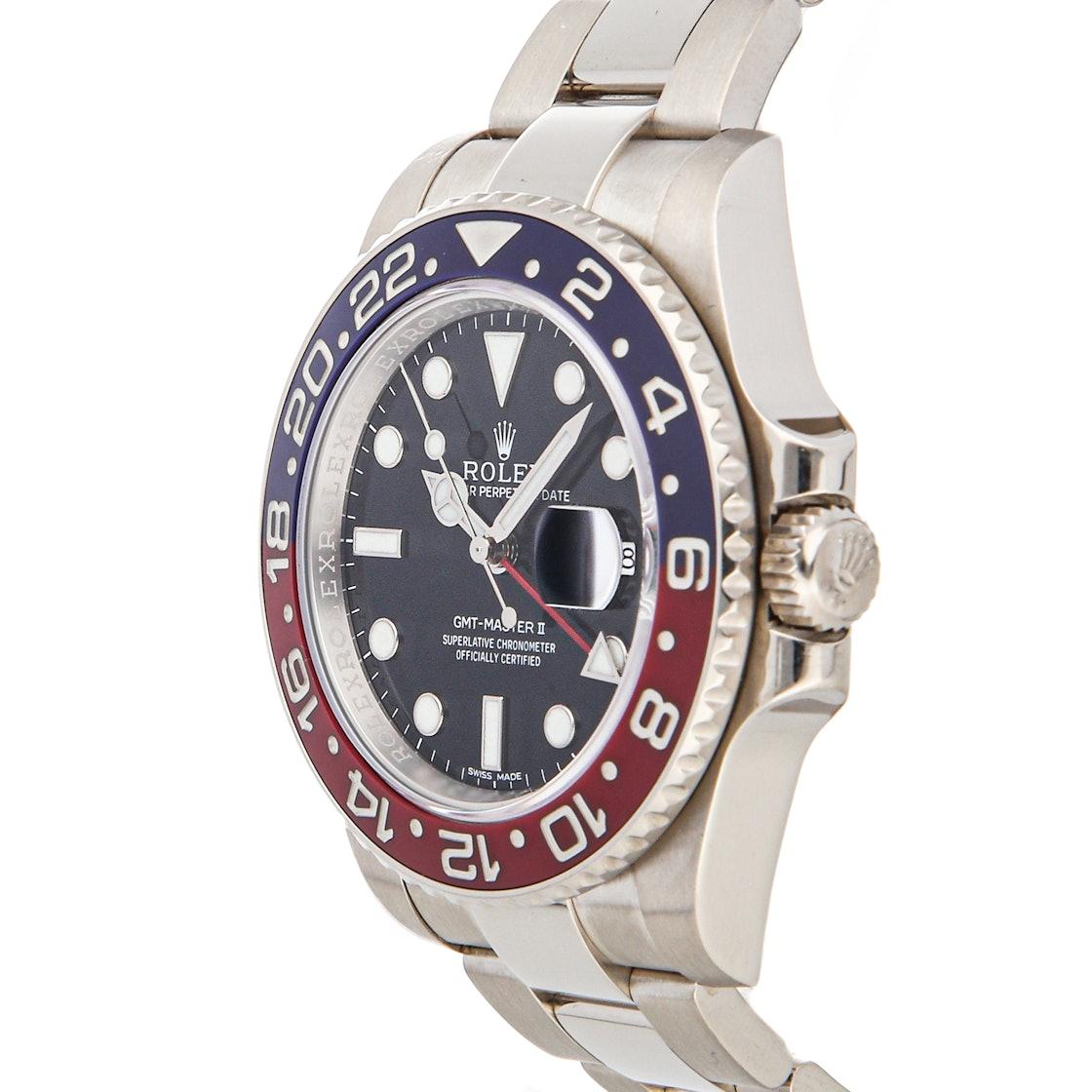 """Rolex GMT-Master II """"Pepsi"""" 116719BLRO"""