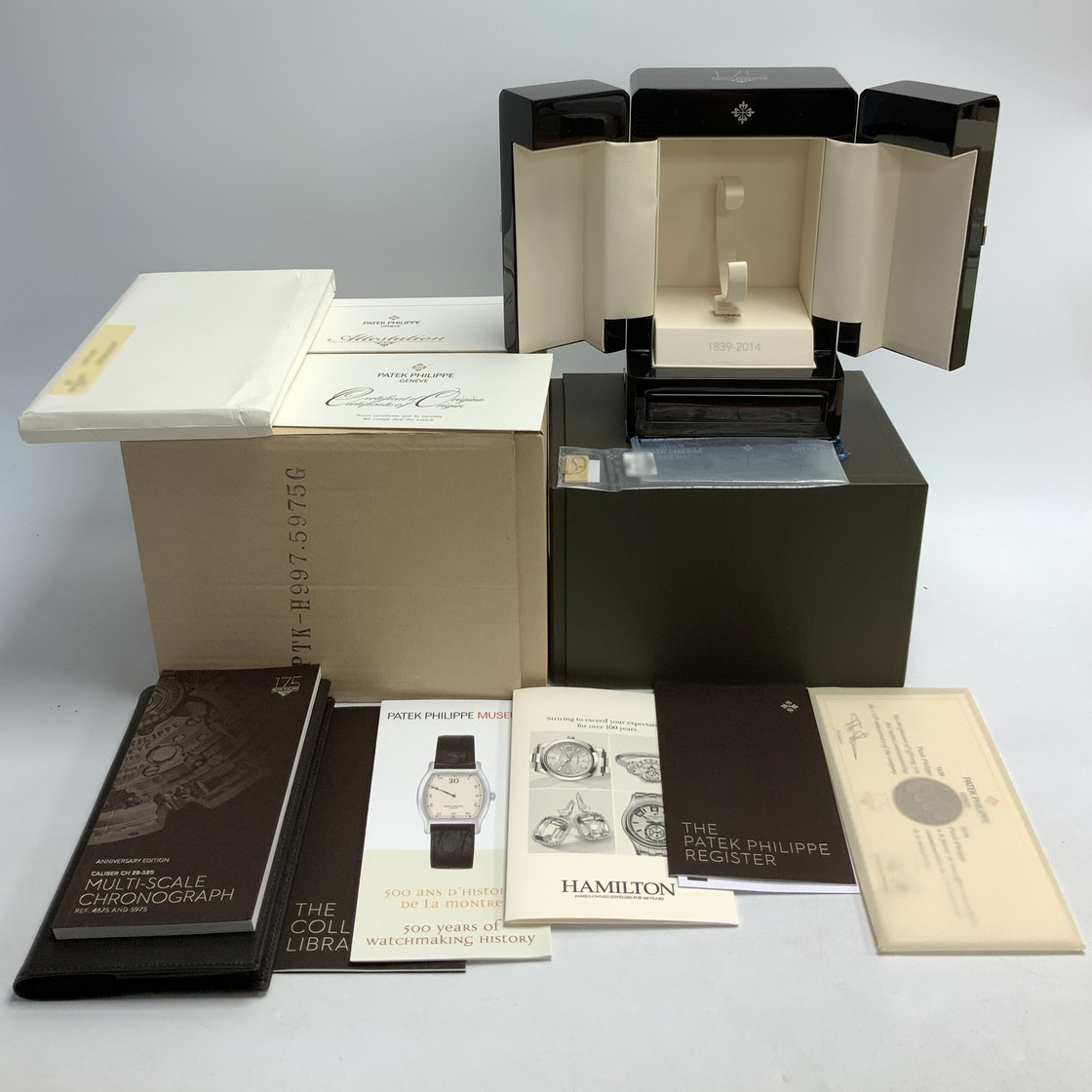Patek Philippe Chronograph 175th Anniversary Limited Edition 5975G-001