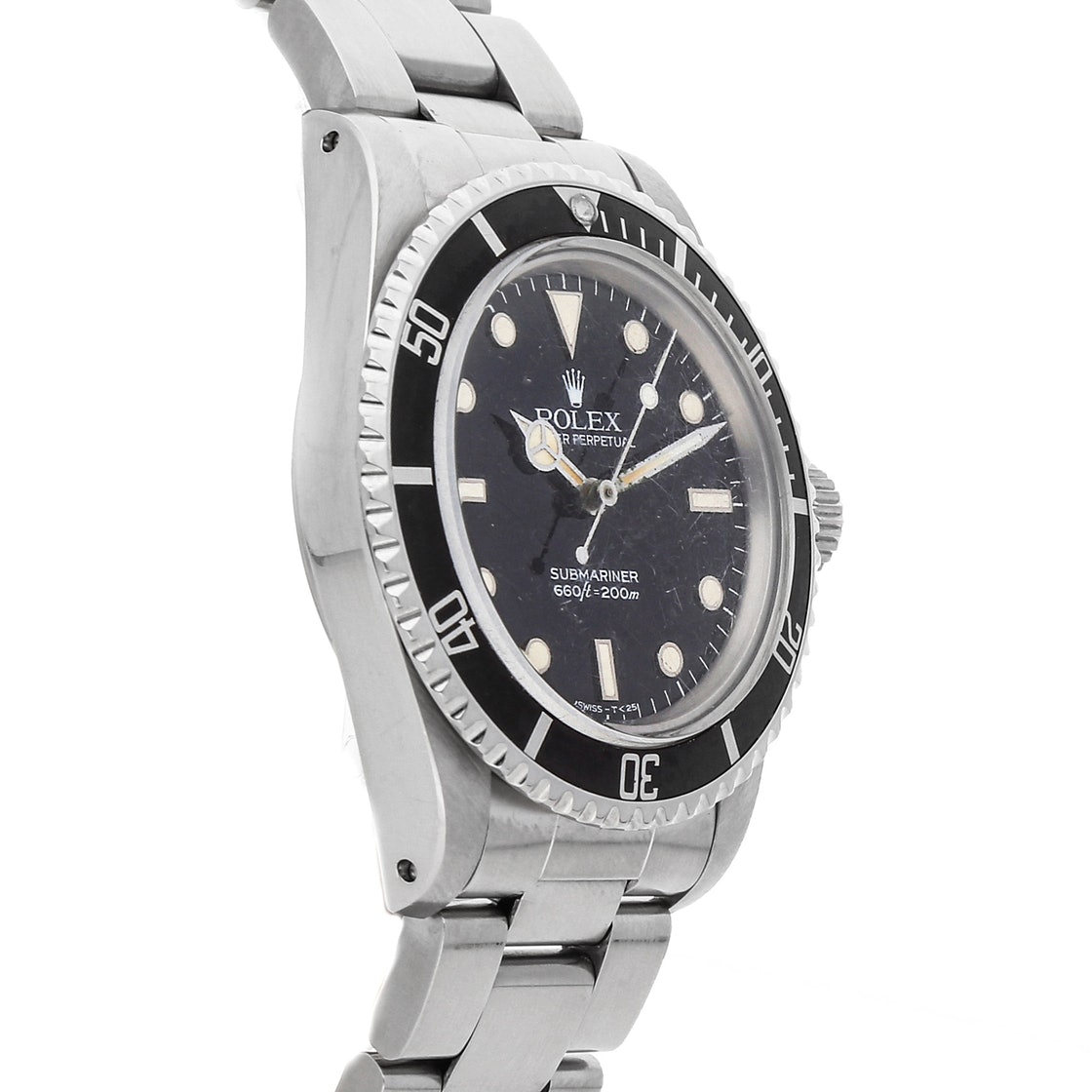 "Rolex Vintage Submariner ""No Date"" 5513"