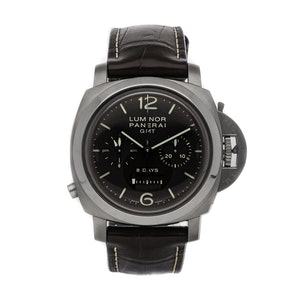 Panerai Luminor 1950 Chronograph Monopulsante 8-Days GMT Titanio PAM 311